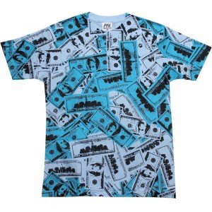 Playing For Keeps Hundred Bills Tee (blue)