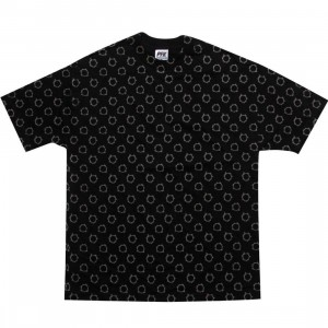 Playing For Keeps Bullet Holes Tee (black / gold)