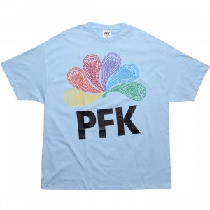 Playing For Keeps Peacock Tee (blue)