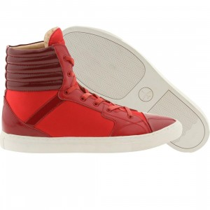 Passport Piazza - Fire Red (red / white)