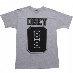 Obey Jersey Tee (heather grey)