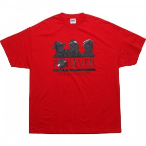 Playing For Keeps Forever Tee (red)