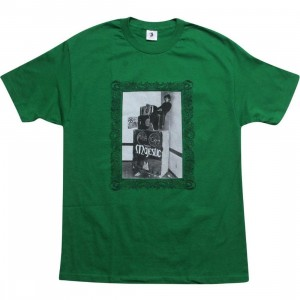 Union Respect Every Time Tee (green / black)