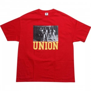 Union Respect Every Time Tee (red / yellow)