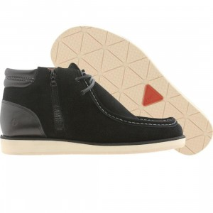 Cause Side Zip Wallaby (black)