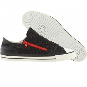 Cause Side Zip Low (black / red / white)
