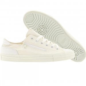 Cause Side Zip Low (white)