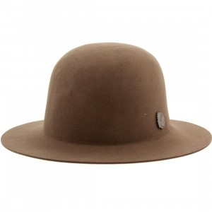 Brixton Cason Bucket Hat (brown / taupe)