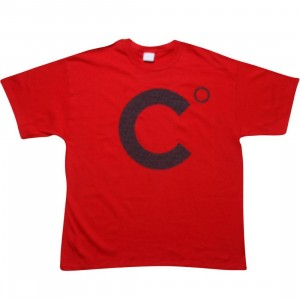 Caked Out Logo Tee (red)