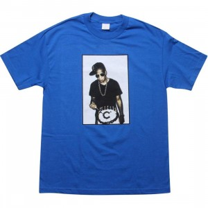 Caked Out B Day Tee (royal blue)