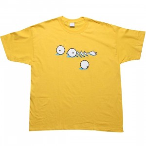 Caked Out Blinky Tee (yellow)