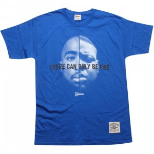 Under Crown There Can Only Be One Tee (royal blue)