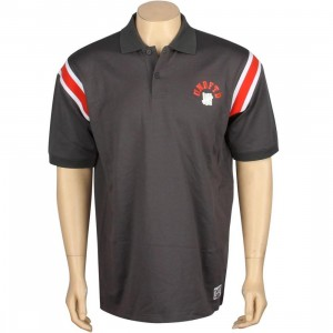 Undefeated Rise Polo (charcoal grey)