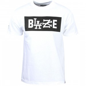 Famous Stars and Straps Men RS Blaze Tee (white)