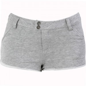 RVCA Women Well Chilled Shorts (gray / heather)
