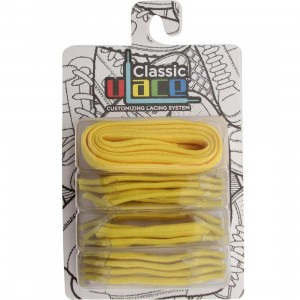 U-Lace Lacing System - Classic Yellow Pack