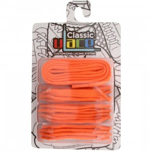 U-Lace Lacing System - Neon Orange Pack