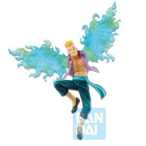 PREORDER - Bandai Ichibansho One Piece Legends Over Time Marco Figure (teal)