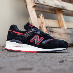 New Balance Men 997 Air Exploration M997DEXP - Made In USA (black / red)