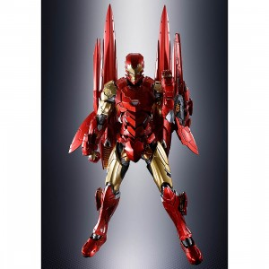 PREORDER - Bandai S.H.Figuarts Marvel Avengers Tech-On Avengers Iron Man Figure (red)