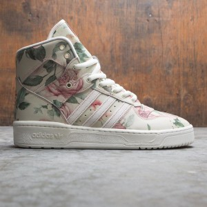 Adidas x Eric Emanuel Men Rivalry Hi OG (white / off white / raw pink / cloud white)