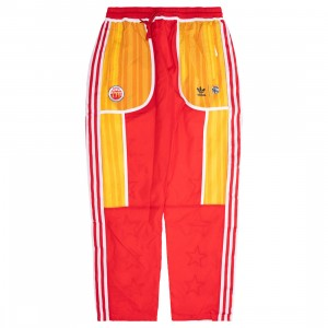Adidas x Eric Emanuel Men Reversible Track Pants (white / cream white / bold gold / red)
