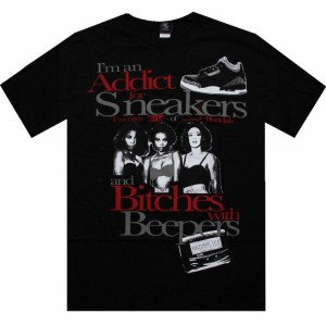 Akomplice Addict for Sneakers Tee (black / black cement) - PYS.com Exclusive