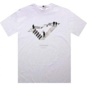 Akomplice Money Equals Happiness Tee (white)