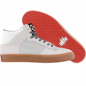 ALIFE Everybody High Afghan - Suede (white)