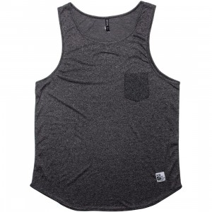 ARSNL Zed Tank Top (charcoal speckle)