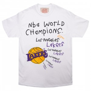 After School Special x NBA Men Lakers Championship Tee (white)