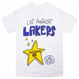 After School Special x NBA Men Lakers Doodle Tee (white)