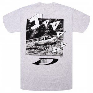 BAIT x Initial D Men Drift Design Tee (gray / silver)