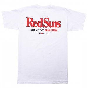BAIT x Initial D Men Red Suns Tee (white)