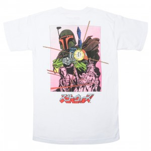 BAIT x Star Wars Manga Men Boba Fett Tee (white)