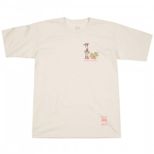 BAIT x Toy Story Men Made To Play Woody Tee (white / natural)