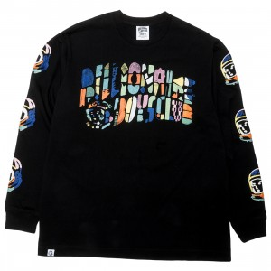 Billionaire Boys Club Men Abstract Arch Long Sleeve Tee (black)