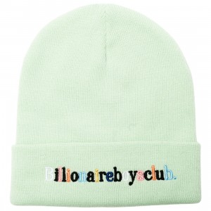 Billionaire Boys Club Alphabet Beanie (green)