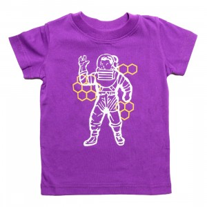 Billionaire Boys Club Little Kids Beekeeper Tee (purple / magic)