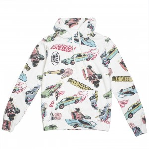 Billionaire Boys Club Men Speedways Hoody (white)