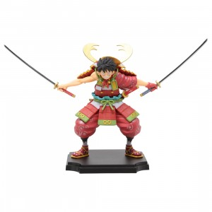 Bandai Ichibansho One Piece Armor Warrior Luffytaro Figure (red)