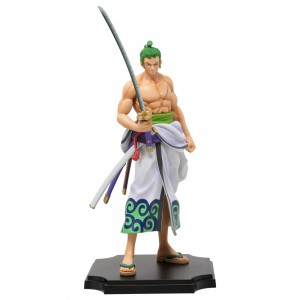 Bandai Ichibansho One Piece Zorojuro And Enma Figure (tan)