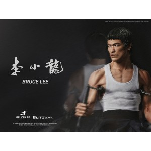 PREORDER - Blitzway Bruce Lee Tribute Statue Ver. 4 1/4th Scale Hybrid Type Statue (white)