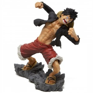 Banpresto One Piece Monkey D Luffy 20th Anniversary Figure (red)