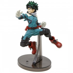 Banpresto My Hero Academia The Amazing Heroes vol 1 Deku Izuku Midoriiya (green)