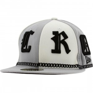 Crooks and Castles Coll English New Era Fitted Cap (grey)