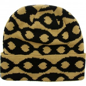 Crooks and Castles Link Beanie (gold)