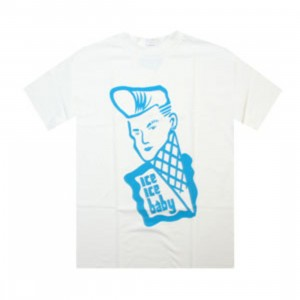 Caked Out Ice Ice Baby Tee (white)
