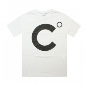 Caked Out Logo Tee (white)