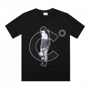 Caked Out Chicks With Kicks 3 Tee (black)